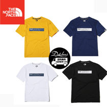 THE NORTH FACE WHITE LABEL Crew Neck Unisex Street Style Short Sleeves