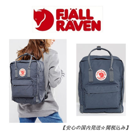 Casual Style Unisex Plain Backpacks