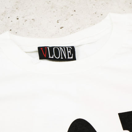 VLONE Crew Neck Crew Neck Street Style Cotton Oversized Crew Neck T-Shirts 4