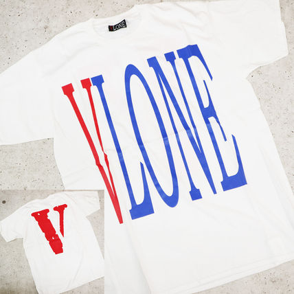 VLONE Crew Neck Crew Neck Street Style Cotton Oversized Crew Neck T-Shirts 7