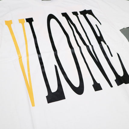 VLONE Crew Neck Crew Neck Street Style Cotton Oversized Crew Neck T-Shirts 15