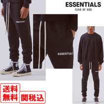 FEAR OF GOD ESSENTIALS Street Style Cotton Bottoms