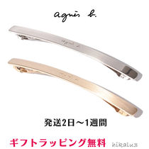 Agnes b Barettes Casual Style Clips