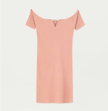 19916498 PULL & BEAR 2019 SS Tight V-Neck Medium Dresses (5390365) by maia-i ...