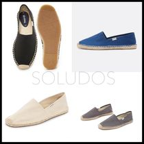 SOLUDOS Street Style Plain Loafers & Slip-ons
