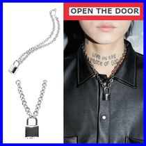 OPEN THE DOOR Unisex Street Style Necklaces & Chokers