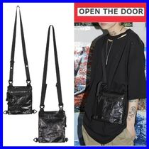 OPEN THE DOOR Unisex Street Style Bags