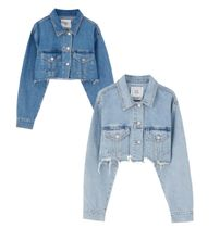 PULL & BEAR Short Denim Jackets