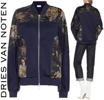 Dries Van Noten Short Unisex Wool Other Animal Patterns Tribal Biker Jackets
