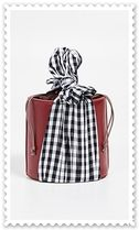 lizzie fortunato Gingham Plain Leather Purses Elegant Style Handbags