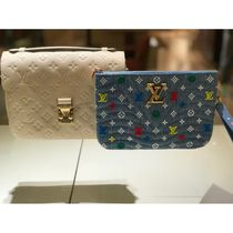 Louis Vuitton Blended Fabrics Bag in Bag 2WAY Elegant Style Clutches