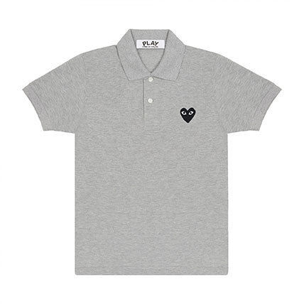 COMME des GARCONS Polos Heart Unisex Street Style Cotton Short Sleeves Polos 6