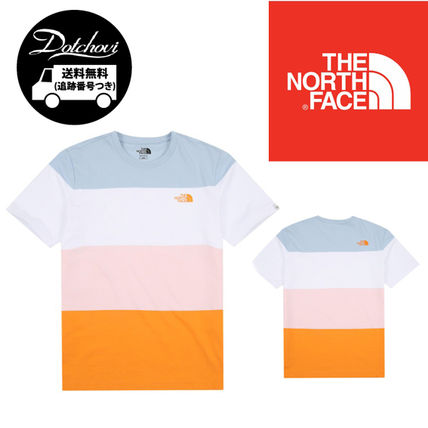 ef8107adf THE NORTH FACE WHITE LABEL 2019 SS Crew Neck Unisex Street Style Plain  Cotton Short Sleeves (NT7UJ16J )