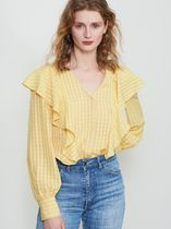 KITRI Other Check Patterns Shirts & Blouses