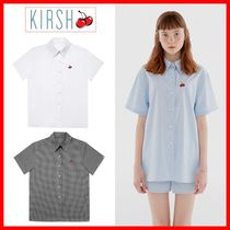 KIRSH Casual Style Street Style Cotton Short Sleeves