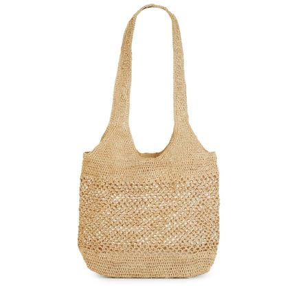 A4 2WAY Plain Handmade Totes