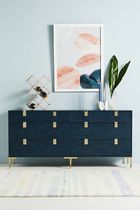 Anthropologie Gold Furniture Kitchen & Dining Room
