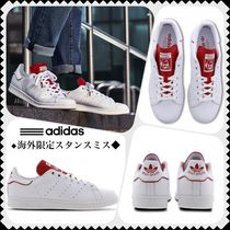 adidas STAN SMITH Street Style Bi-color Leather Sneakers