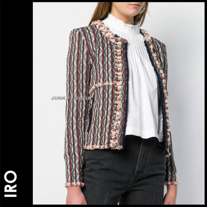Medium Elegant Style Jackets