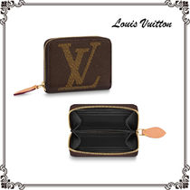 Louis Vuitton ZIPPY COIN PURSE Monogram Unisex Canvas Street Style Coin Cases