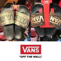 VANS Camouflage Unisex Street Style Shower Shoes Shower Sandals