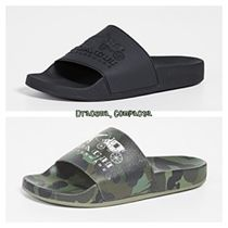 Coach Camouflage Street Style Shower Shoes Shower Sandals