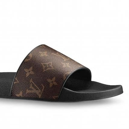 Louis Vuitton Sports Sandals Monogram Blended Fabrics Street Style Sport Sandals 3