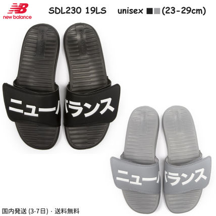 a8c81279e ... New Balance Shower Sandals Unisex Faux Fur Street Style Plain Shower  Shoes ...