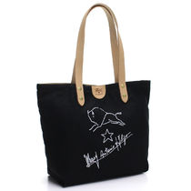 IL BISONTE Casual Style Unisex A4 Totes
