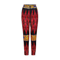 Louis Vuitton Printed Pants Silk Long Pants