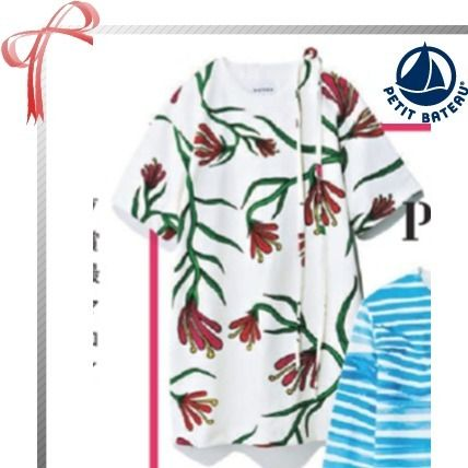 Flower Patterns Casual Style Collaboration Dresses