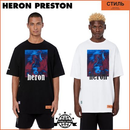 Heron Preston Crew Neck Crew Neck Cotton Short Sleeves Crew Neck T-Shirts 14