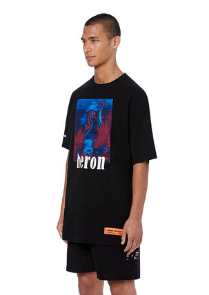 Heron Preston Crew Neck Crew Neck Cotton Short Sleeves Crew Neck T-Shirts 4
