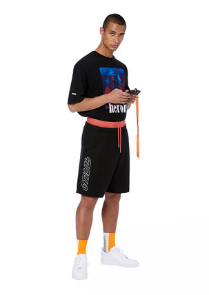 Heron Preston Crew Neck Crew Neck Cotton Short Sleeves Crew Neck T-Shirts 7
