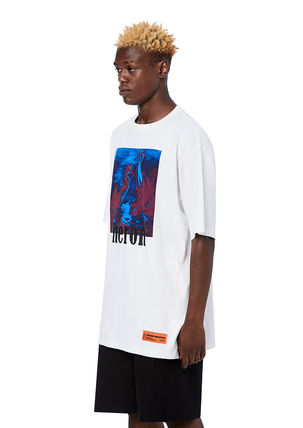Heron Preston Crew Neck Crew Neck Cotton Short Sleeves Crew Neck T-Shirts 10