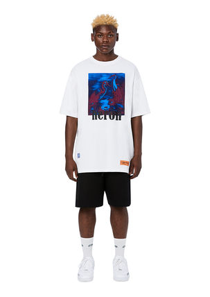 Heron Preston Crew Neck Crew Neck Cotton Short Sleeves Crew Neck T-Shirts 12