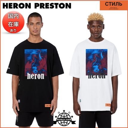 Heron Preston Crew Neck Crew Neck Cotton Short Sleeves Crew Neck T-Shirts