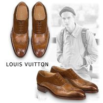 Louis Vuitton VARENNE RICHELIEU brown  5.0-10.0 Oxfords