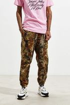 Urban Outfitters Printed Pants Camouflage Street Style Patterned Pants