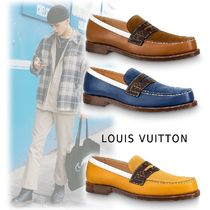 Louis Vuitton SORBONNE LOAFERS cognac, marine, jaune 5.0-11.0 loafers
