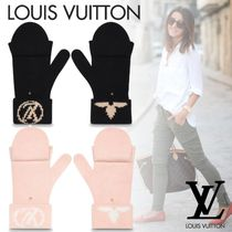 Louis Vuitton Flower Patterns Gloves Gloves
