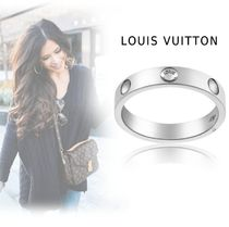 Louis Vuitton ENPRINT RING platinum 44-63 ring