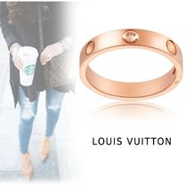 Louis Vuitton ENPRINT RING pink gold 44-63 ring