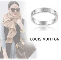 Louis Vuitton ENPRINT RING platinum diamond 44-63 ring
