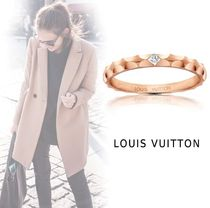 Louis Vuitton PINK GOLD&DIAMOND RING pink gold 44-63 ring