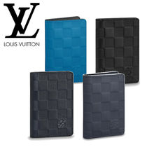 Louis Vuitton DAMIER INFINI Leather Card Holders