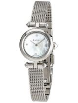 GUCCI Casual Style Round Quartz Watches Jewelry Watches Stainless