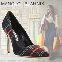 Manolo Blahnik Other Check Patterns High Heel Pumps & Mules