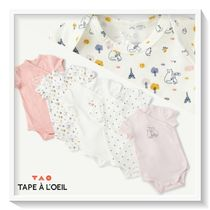 tape a l'oeil Organic Cotton Baby Girl Underwear