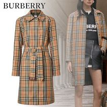 Burberry Other Check Patterns Casual Style Unisex Street Style Medium